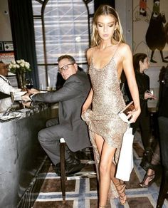 New Trending Celebrity Looks: stellamaxwell: Stella Maxwell in met gala stellamaxwell: Stella Maxwell in met gala Ball Dresses, Evening Dresses, Straps Prom Dresses, Slip Dresses, Mode Ootd, Glitz And Glam, Costume, Looks Cool, Dress To Impress