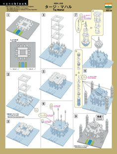 nanoblock instructions - Google Search