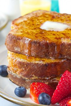 Brioche French Toast - cakes and other tasty things - Toast Rezepte Brioche French Toast, Make French Toast, Bagels, Tortillas, Bread Recipes, Cooking Recipes, Hamburger Recipes, Vegetarian Cooking, Cooking Ideas