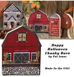 KP Creek Gifts - Halloween Chunky Barn