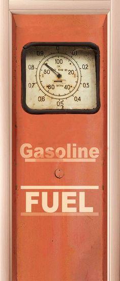 Door sticker – Gasoline