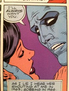 Dr. Manhattan's predicaments.