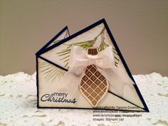 Twisted Ornament 3x3 Card