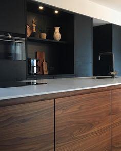 Home Decoration White .Home Decoration White Kitchen Room Design, Living Room Kitchen, Small Modern Kitchens, Home Kitchens, Modern Kitchen Cabinets, Cheap Home Decor, Home Remodeling, Kitchen Remodel, House Design