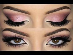 ♡ All PINK Doll Makeup Look ♡ Valentine's Day Inspiration ♡ (English) - YouTube