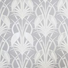 Deco Heron x Paste the Wall Wallpaper Roll The Chateau By Angel Strawbridge Colour: Grey Geometric Wallpaper Murals, Art Deco Wallpaper, Star Wallpaper, Damask Wallpaper, Embossed Wallpaper, Wallpaper Panels, Angel Strawbridge, Motifs Art Nouveau, Normal Wallpaper