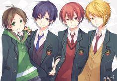 우라시마사카타센 Anime Chibi, Kawaii Anime, Manga Anime, Anime Art, Vocaloid, Anime Recommendations, Otaku, Cute Japanese, Handsome Anime