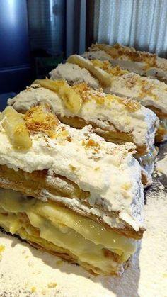 Μιλφέιγ σπέσιαλ με μπανάνες !!! ~ ΜΑΓΕΙΡΙΚΗ ΚΑΙ ΣΥΝΤΑΓΕΣ 2