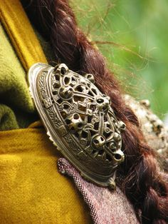 woodlyndefae:   	Viking Brooch by Hans Splinter