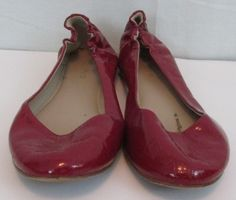 Mossimo Red Glossy Flat Shoes  Size 10 Manmade material Target brand No box