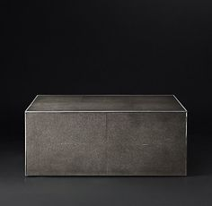Shagreen Tables | RH Modern