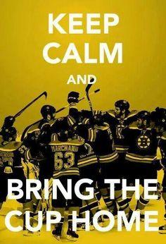Boston Bruins Keep Calm