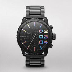 DIESEL® Women Watches:Women Chronograph DZ5340. http://store.dieseltimeframes.com