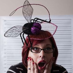 MILLINER: FLY WITH ME - by Amanda Joyner #millinery #hats #HatAcademy