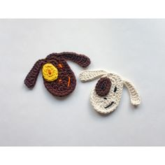 Dog Applique Crochet