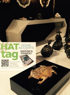 Congrats & #HATtag to Arête Collection's debut: beautifully crafted furniture, lighting, decorative objects. #HPMKT Schwung showroom, 501 S Centennial & IH203