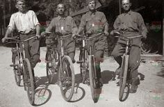 HUNGARY MILITARY BICYCLES 1917