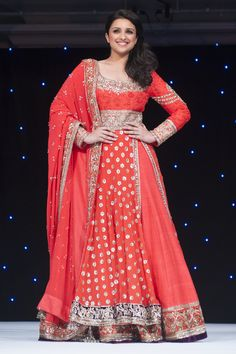 Bollywood newcomer Parineeti lights up the stage for a worthy cause
