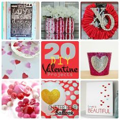 20 DIY Valentine projects posted by Jen Check out these amazing 20 DIY Valentine Decor projects!