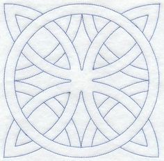 Embroidery Patterns Machine Embroidery Designs at Embroidery Library! - Friendship Ring Quilting Square (Double Run) Quilting Projects, Quilting Designs, Machine Embroidery Designs, Embroidery Patterns, Quilt Patterns, Embroidery Applique, Celtic Quilt, Celtic Patterns, Celtic Designs