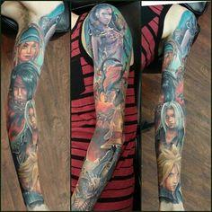 Click To See 17 Incredible Final Fantasy Tattoos