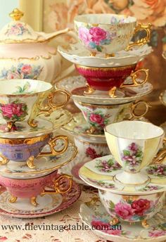 China tea cups...