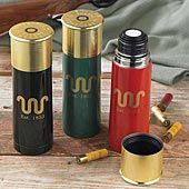 Shotgun Shell Thermos @Christine Hachem  my father in law and brother in law need these!!!