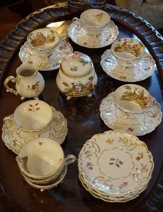 Wallendorfer Tea Set