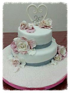 nozze d'argento cake