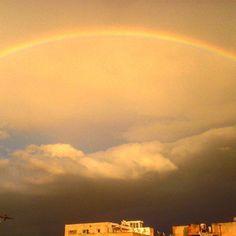 #tunisia #soussa #rainbow #nature #pinkfloyd ✌👌 #photography 🌈💧🍀📷🎶
