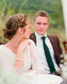 #boda #peinados #novia #trenza