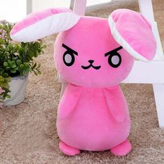 """Overwatch"" 50cm Pink Rabbit"