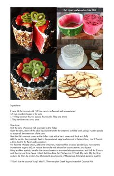 Watermelon Cake!!!