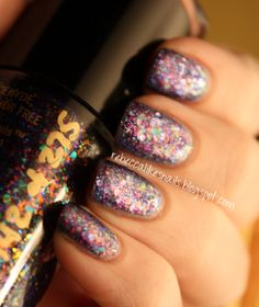 I want this polish. It's called Unicorn Puke.