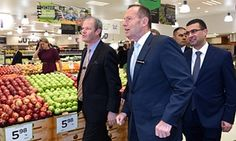 For Tony Abbott, financial stability starts in the fruit and veg aisle The prime minister appeared to suggest a grocery code of conduct could have prevented the Greek financial crisis. But could he possibly have meant that?