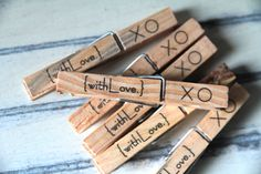 Mmmm....with love clothespins. ⚓️