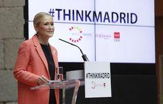 """Cifuentes invita a inversores e instituciones a que """"piensen en la Comunidad de Madrid"""" como el mejor destino para ubicar sus sedes"""