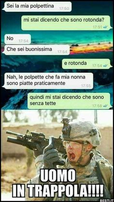 Ah ah ah fatto bene Funny Chat, Funny Jokes, Hilarious, Funny Photos, Funny Images, Lol Text, Italian Memes, Persona, All Meme