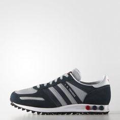 adidas LA Trainer Shoes - Grey | adidas UK