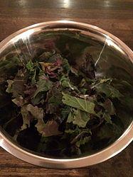 Quick Kale chip recipe