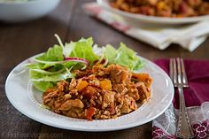 Tofu Jambalaya: A vegan version of the Louisiana classic. Low-fat, too!