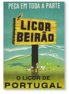 Poster Tabuleta do Licor Beirão Funchal, Vintage Advertisements, Vintage Ads, Posters Vintage, Illustrations And Posters, Graphic Design Illustration, Historical Photos, Travel Posters, Poster Pictures