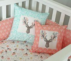 Girl Woodlands nursery