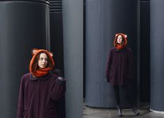 Evgenia Tkachenko -  -  Red In The Grey