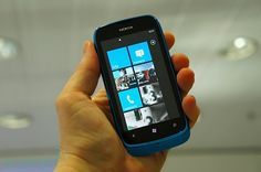 Nokia Lumia 610, the cheapest Windows Phone smartphone - 190 euros § by Engadget (http://www.engadget.com/2012/02/27/nokia-lumia-610-hands-on-video/)