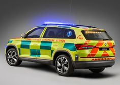 Škoda Kodiaq Ambulance '2017 Audi, Porsche, City Of Columbus, Columbus Georgia, Columbus Fire Department, Dr Car, Liquor Shots, Volkswagen, Mens Toys