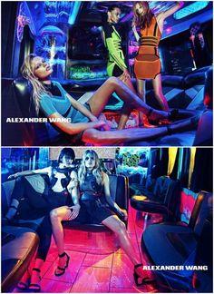 「アレキサンダー ワン(Alexander Wang)」2015春夏のキャンペーンヴィジュアルが公開