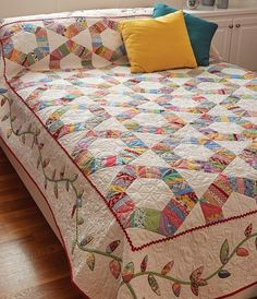 Friendship Rings Quilt Pattern Download