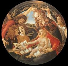 Sandro Botticelli Reproduction oil painting  (((This particular piece speaks volumes to my heart)))