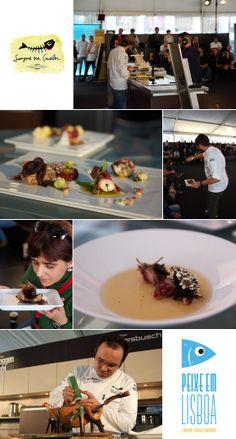 O polvo por vários chefs no Peixe em Lisboa [2014]